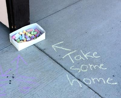 chalk: Take some home